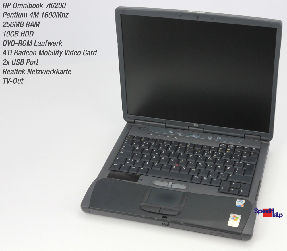 HP OMNIBOOK VT6200 VIDEO DRIVERS FOR WINDOWS XP